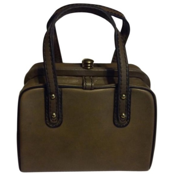 Vintage Handbags - Vintage Pill Box Purse